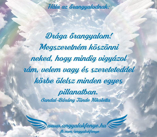Photo of Angyali üzenet: Hála az őrangyalodnak