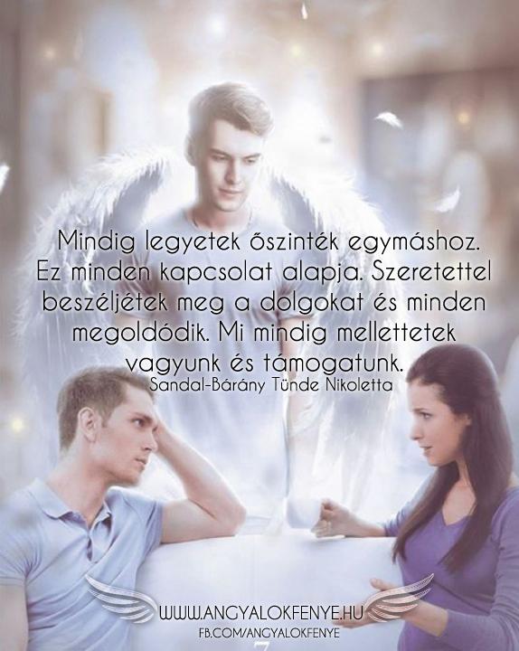 Photo of Angyali üzenet: Mindig legyetek őszinték egymáshoz