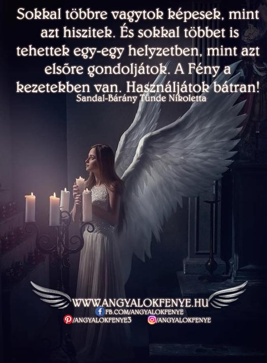 Photo of Angyali üzenet: A Fény a kezetekben van