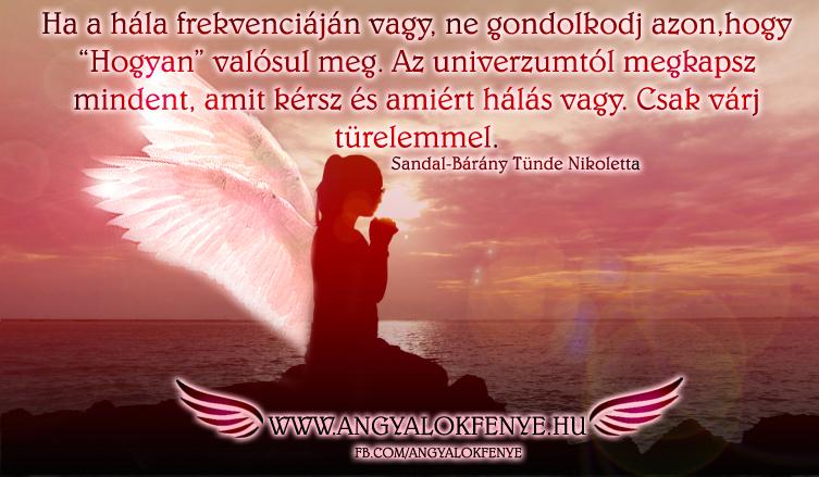 Photo of Angyali üzenet: Ha a hála frekvenciáján vagy