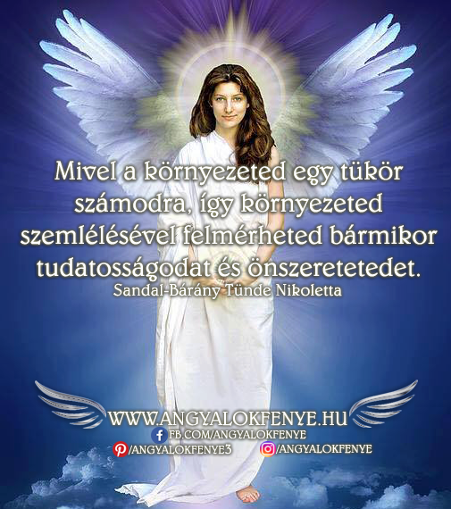 Angyali üzenet-Környezeted tükör számodra