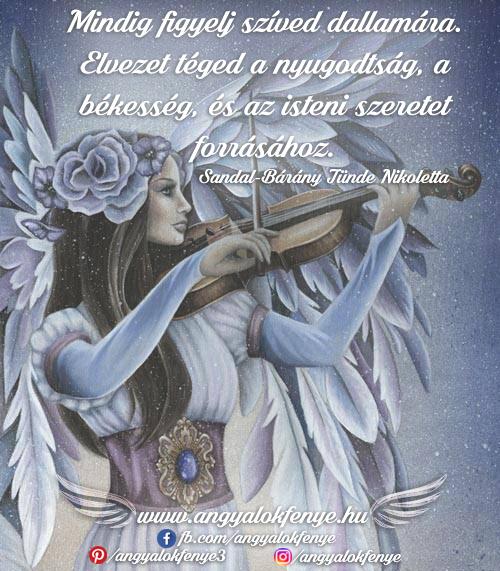 Photo of Angyali üzenet: Mindig figyelj szíved dallamára