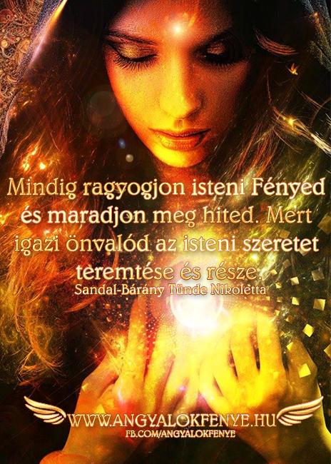 Photo of Angyali üzenet: Mindig ragyogjon isteni Fényed