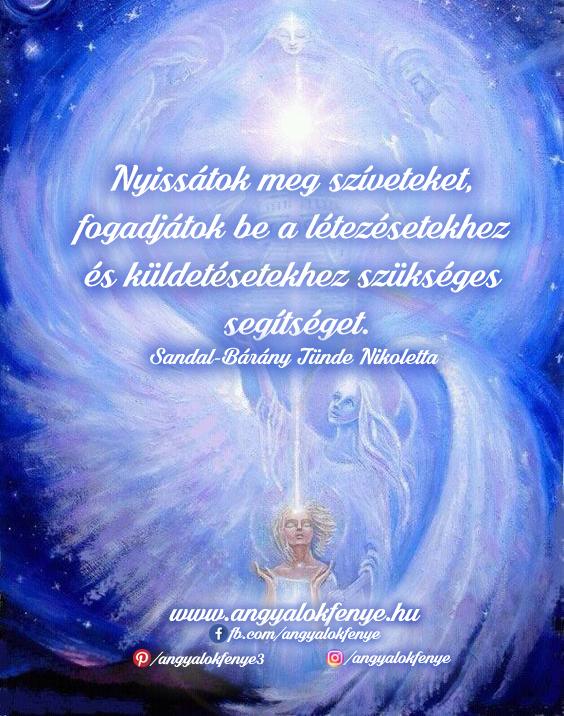 Photo of Angyali üzenet: Nyissátok meg szíveteket