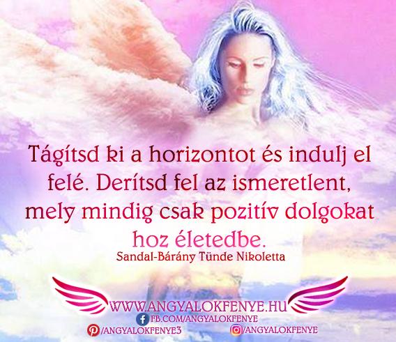 Photo of Angyali üzenet: Tágítsd ki a horizontot
