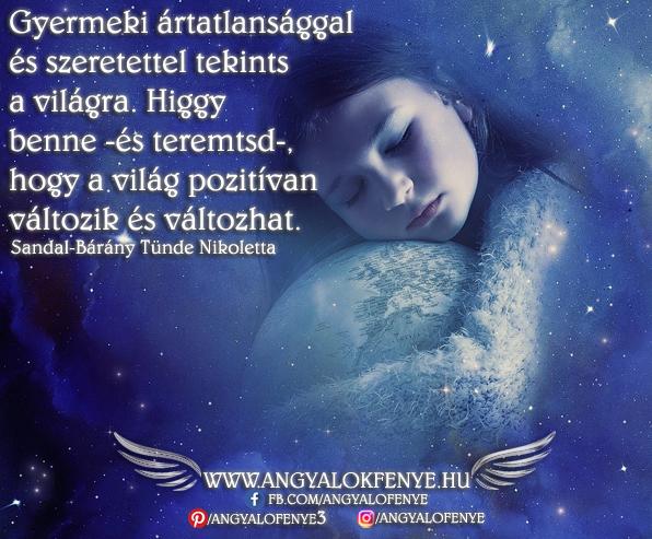 Photo of Angyali üzenet: Gyermeki szeretettel tekints a világra