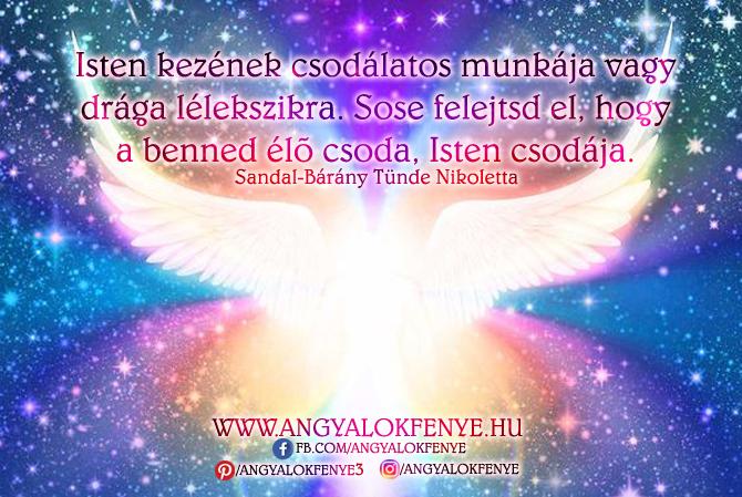 Photo of Angyali üzenet: Isten kezének csodálatos munkája vagy