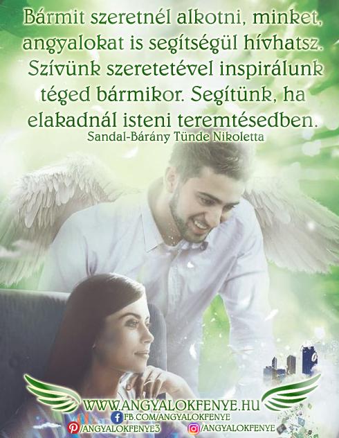 Photo of Angyali üzenet: Szívünk szeretetével inspirálunk téged