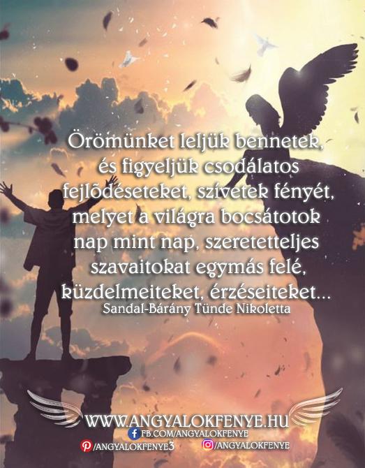 Angyali üzenet-Örömünket leljük bennetek