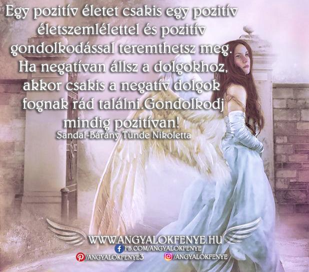 Photo of Angyali üzenet: Gondolkodj mindig pozitívan!