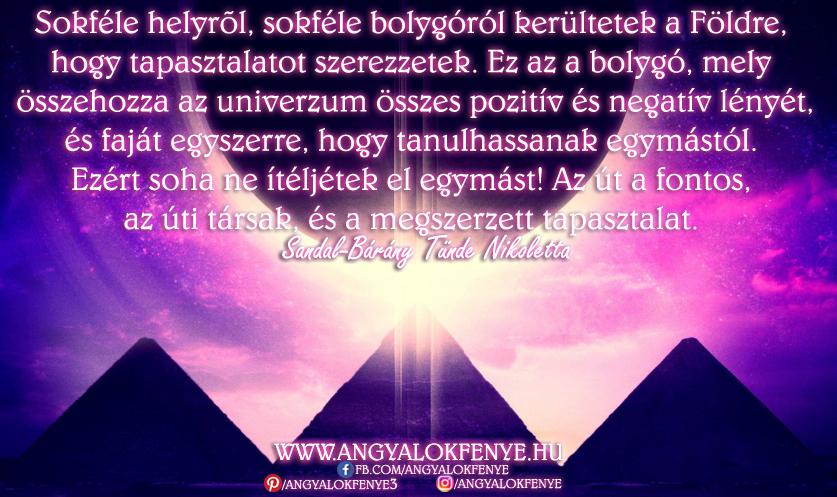 Photo of Angyali üzenet: Sokféle helyről, sokféle bolygóról kerültetek a Földre