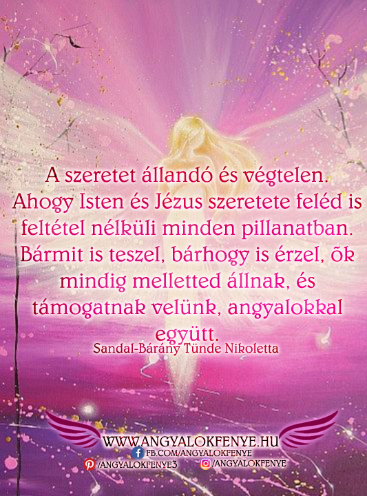 Photo of Angyali üzenet: A szeretet állandó és végtelen