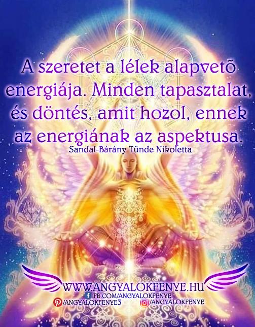 Photo of Angyali üzenet: A szeretet a lélek alapvető energiája