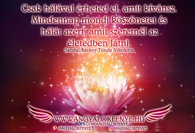 Photo of Angyali üzenet: Csak hálával érheted el, amit kívánsz