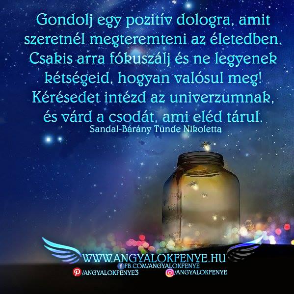 Photo of Angyali üzenet: Gondolj egy pozitív dologra