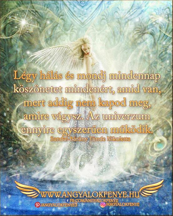 Photo of Angyali üzenet: Légy hálás és mondj mindennap köszönetet