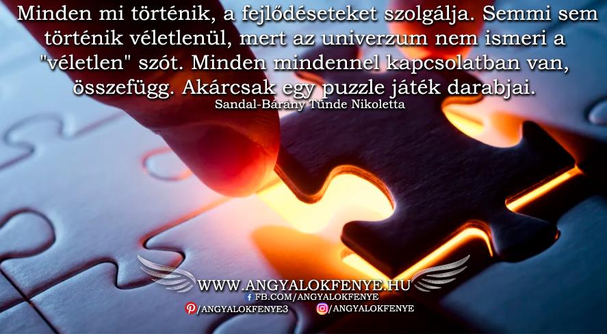 Photo of Angyali üzenet: Minden mi történik, a fejlődéseteket szolgálja