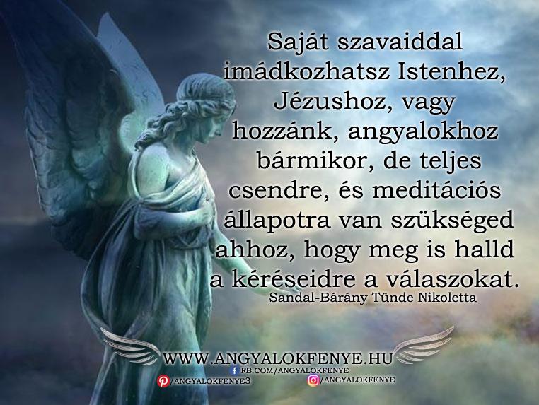 Photo of Angyali üzenet: Saját szavaiddal imádkozhatsz