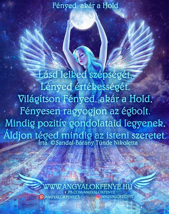 Photo of Angyali vers-üzenet: Fényed, akár a Hold