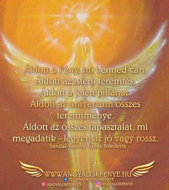 Photo of Angyali üzenet: Áldott a Fény, mi benned van