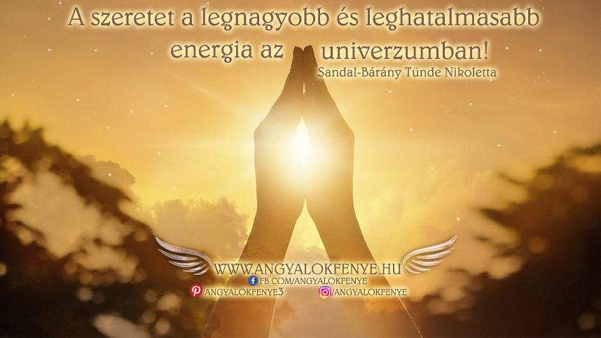 Photo of Angyali üzenet: A szeretet a legnagyobb energia