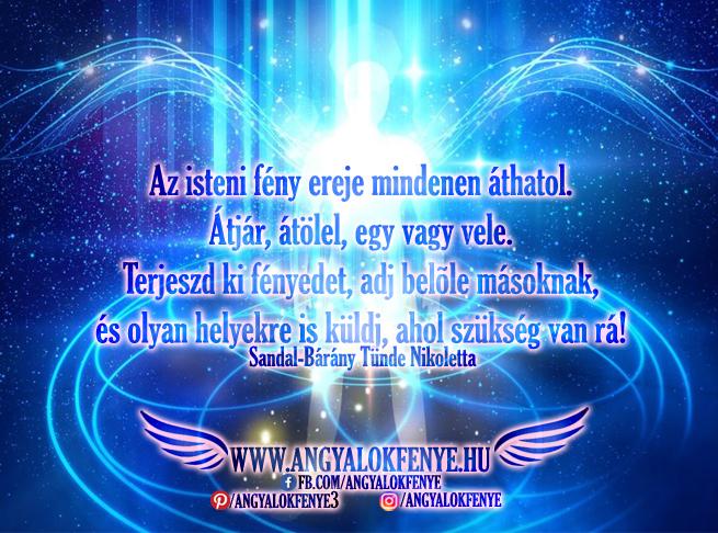 Angyali üzenet-Az isteni fény ereje