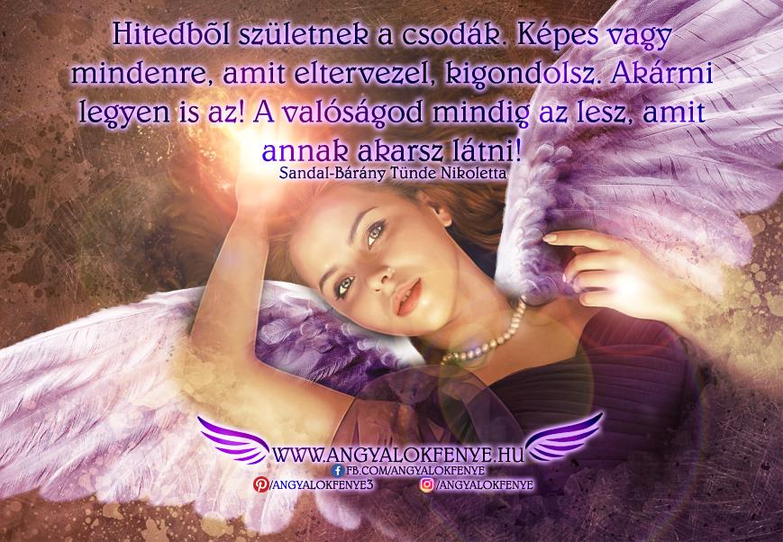 Photo of Angyali üzenet: Hitedből születnek a csodák