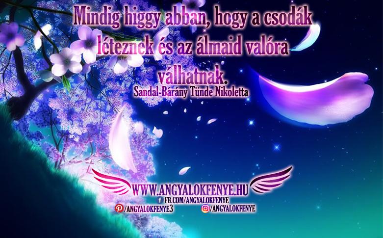 Photo of Angyali üzenet: Mindig higgy abban, hogy a csodák léteznek