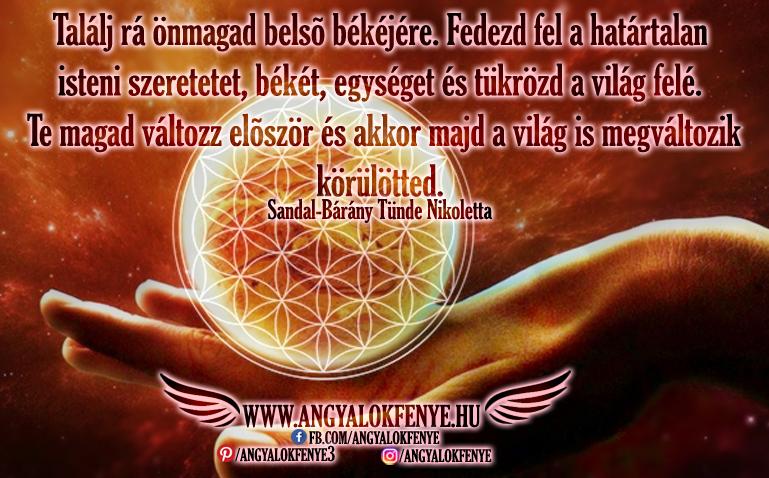 Photo of Angyali üzenet: Találj rá önmagad belső békéjére