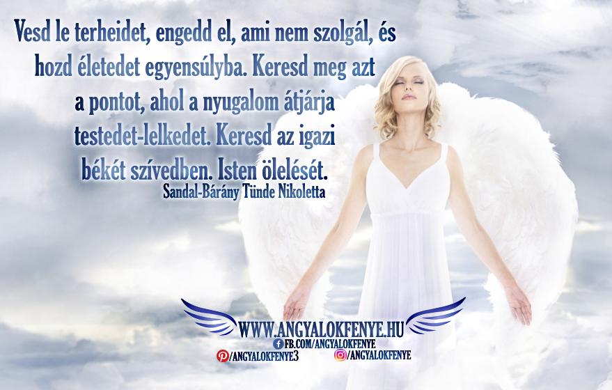 Photo of Angyali üzenet: Vesd le terheidet