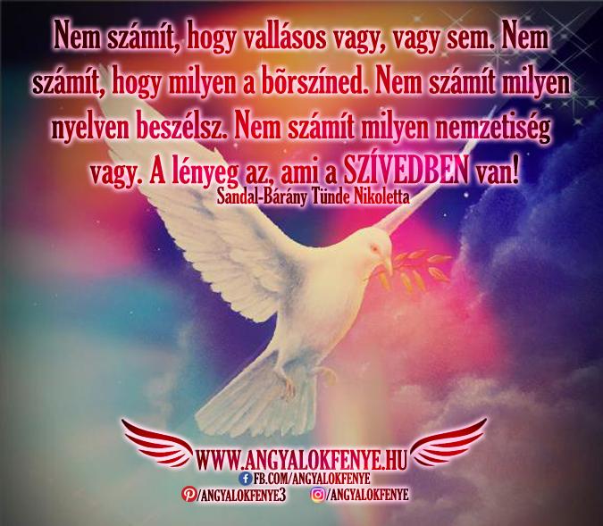 Photo of Angyali üzenet: A lényeg az, ami a szívedben van