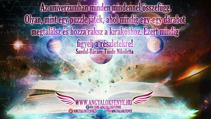 Photo of Angyali üzenet: Az univerzumban minden mindennel összefügg