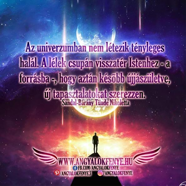 Photo of Angyali üzenet: Az univerzumban nem létezik tényleges halál