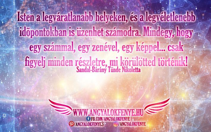 Photo of Angyali üzenet: Isten a legvéletlenebb időpontokban is üzenhet számodra