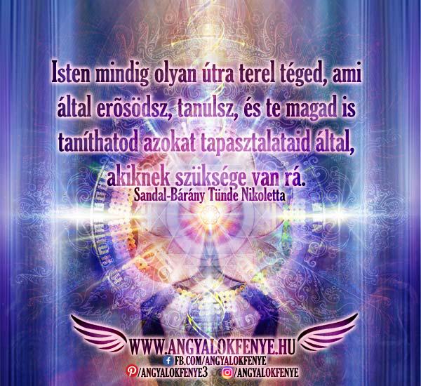 Photo of Angyali üzenet: Isten mindig olyan útra terel téged