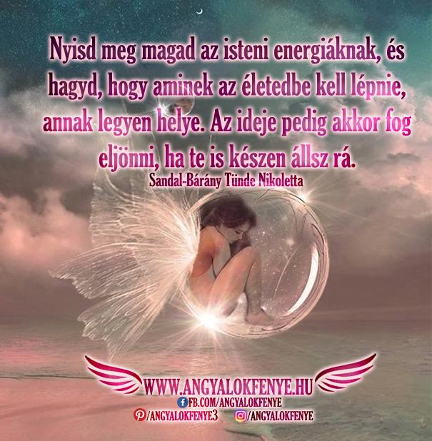 Photo of Angyali üzenet: Nyisd meg magad az isteni energiáknak
