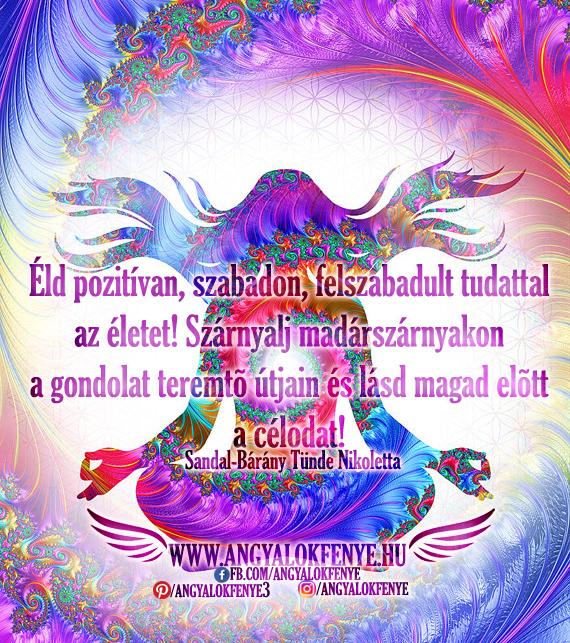 Photo of Angyali üzenet: Szárnyalj madárszárnyakon a gondolat teremtő útjain