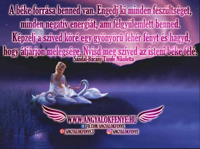 Photo of Angyali üzenet: A béke forrása benned van