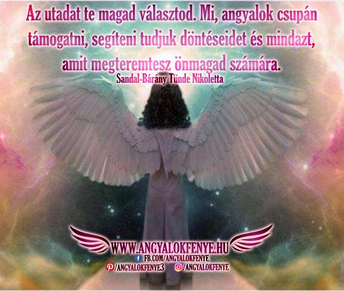 Photo of Angyali üzenet: Az utadat te magad választod
