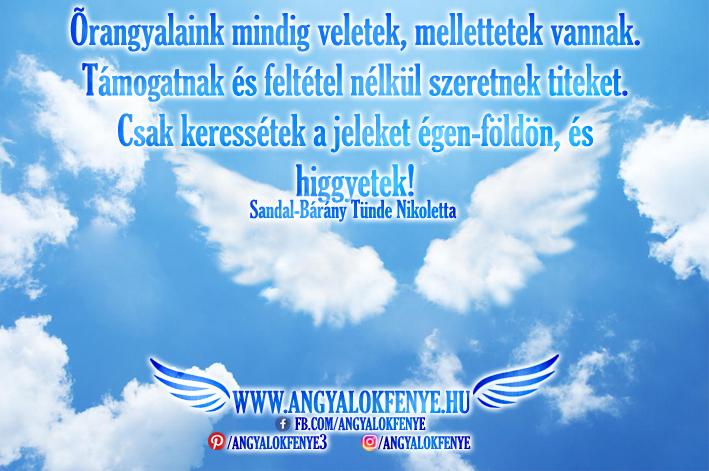 Photo of Angyali üzenet: Őrangyalaink mindig veletek vannak