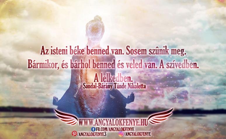 Angyali üzenet-Az isteni béke benned van