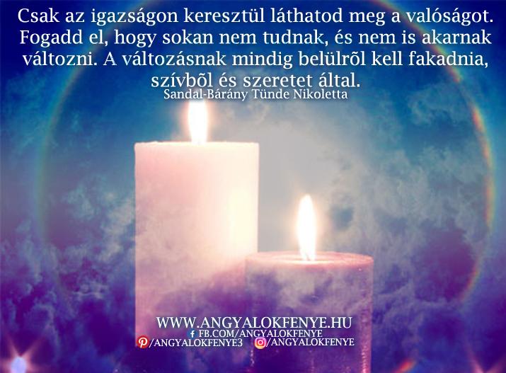 Photo of Angyali üzenet: Csak az igazságon keresztül láthatod meg a valóságot