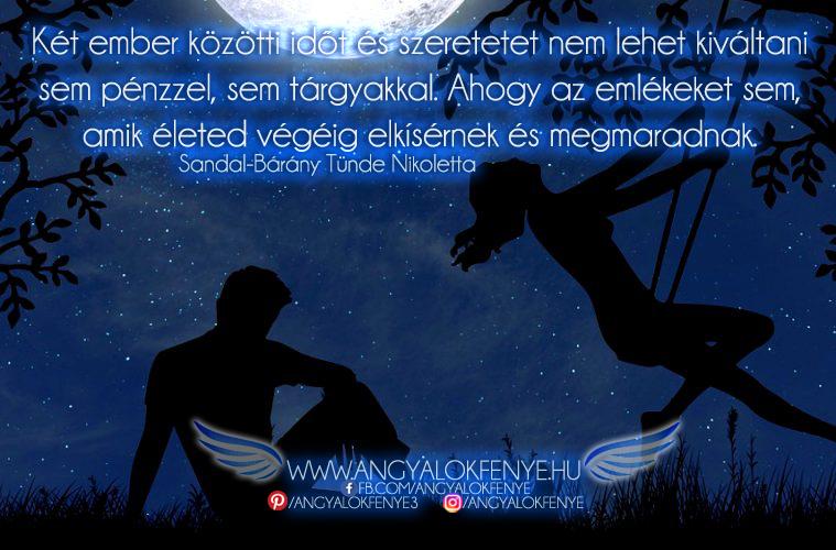 Photo of Angyali üzenet: Két ember közötti idő és szeretet