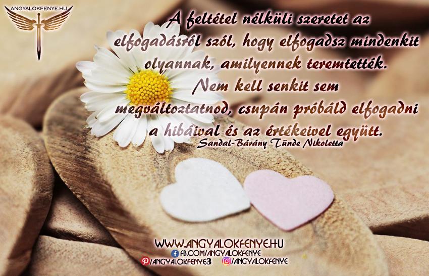 Photo of Angyali üzenet: A feltétel nélküli szeretet az elfogadásról szól