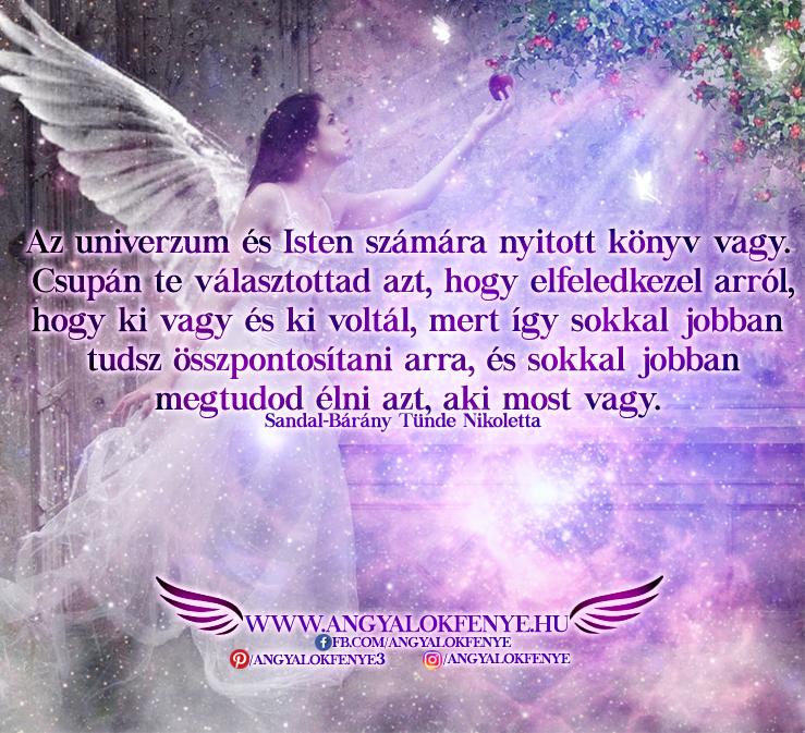 Photo of Angyali üzenet: Az univerzum és Isten számára nyitott könyv vagy