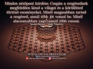 Angyali üzenet-Minden nézőpont kérdése