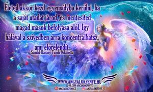 Angyali üzenet-Életed egyensúlya