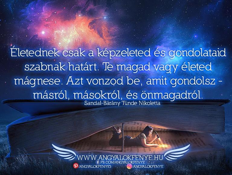 Angyali üzenet-Életednek csak a képzeleted szab határt