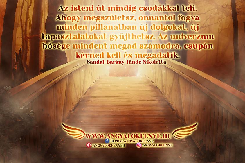 Photo of Angyali üzenet: Az isteni út mindig csodákkal teli