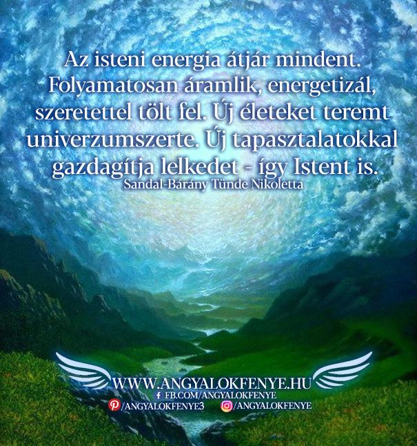 Photo of Angyali üzenet: Az isteni energia átjár mindent